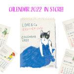 2022年の壁掛け&卓上カレンダーができました!
